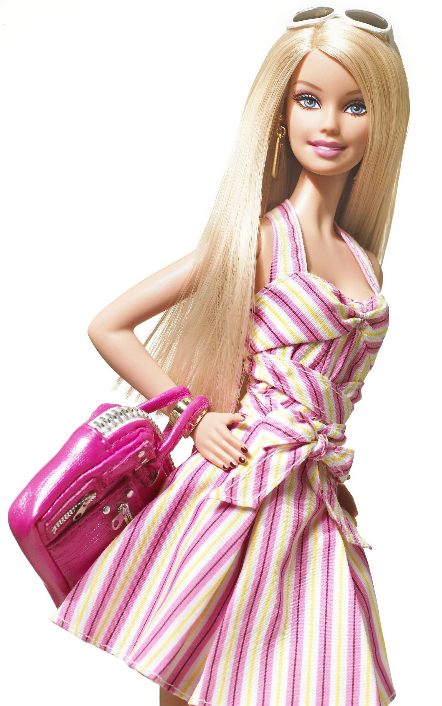 Most beautiful barbie doll clipart.
