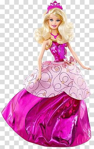 Barbie Princess Charm School transparent background PNG.