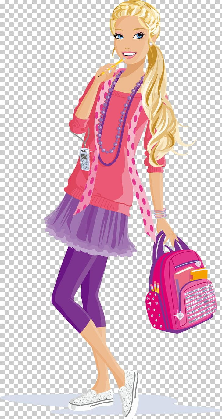 Barbie: The Princess & The Popstar Doll Barbie Girl PNG.