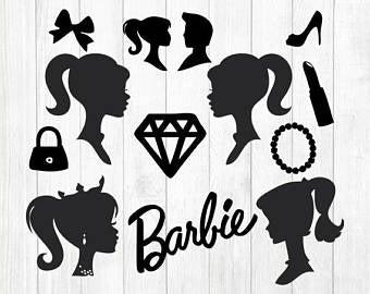 Barbie silhouette.