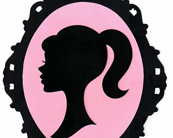 Huge Collection of 'Barbie silhouette clip art'. Download more than.