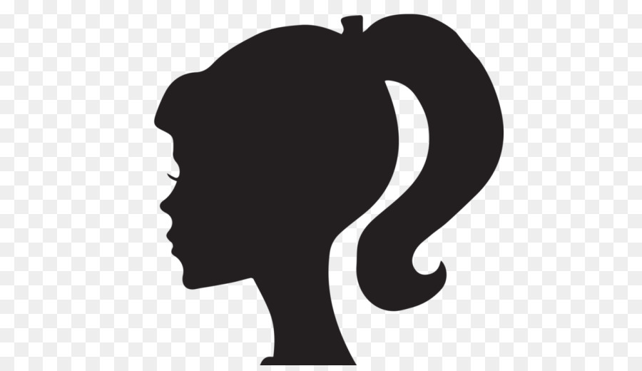 Free Barbie Head Silhouette, Download Free Clip Art, Free.