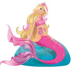 barbie mermaid clipart clipground
