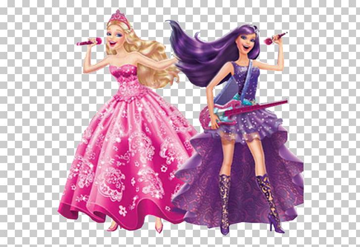 Popstar Keira Princess Tori Princess Anneliese Barbie Doll.