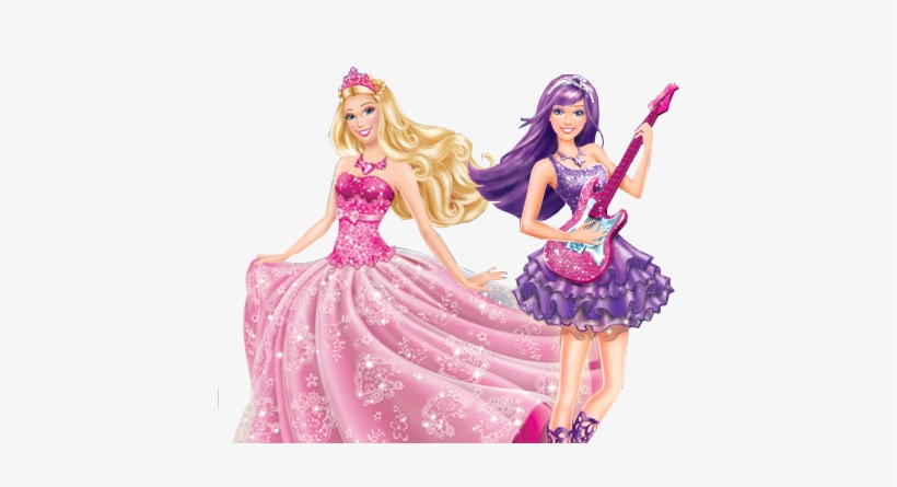 Vector Freeuse Download Barbie Clipart Title.