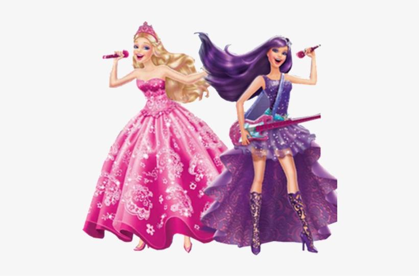 Princesa Barbie Png.
