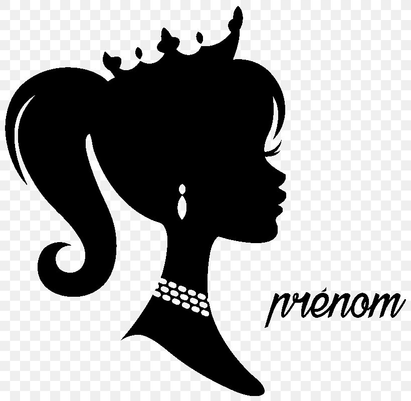 Barbie Silhouette Drawing Clip Art, PNG, 800x800px, Barbie.