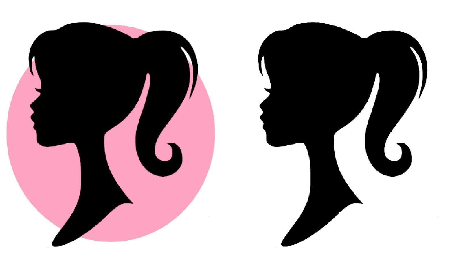 Make it Cozee: Free Barbie Silhouette Printable.