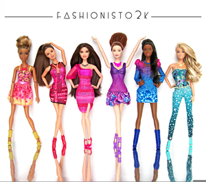 Clipart Of Barbies.