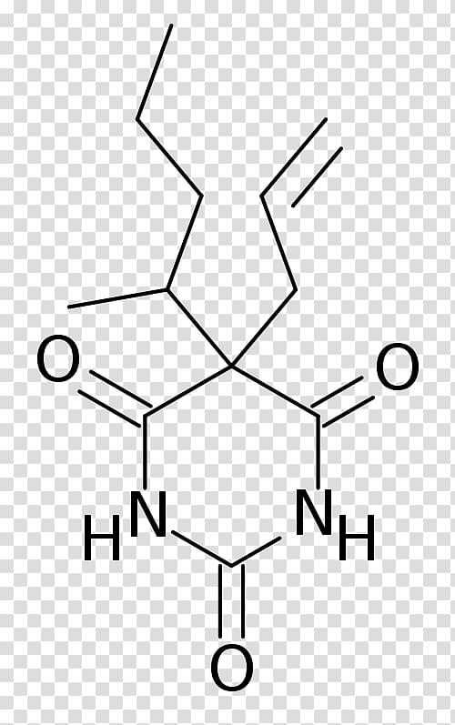 Phenobarbital Chemical structure Pentobarbital Barbiturate.