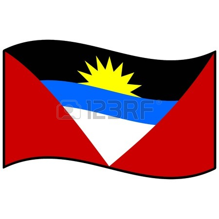 antigua and barbuda flag clipart.