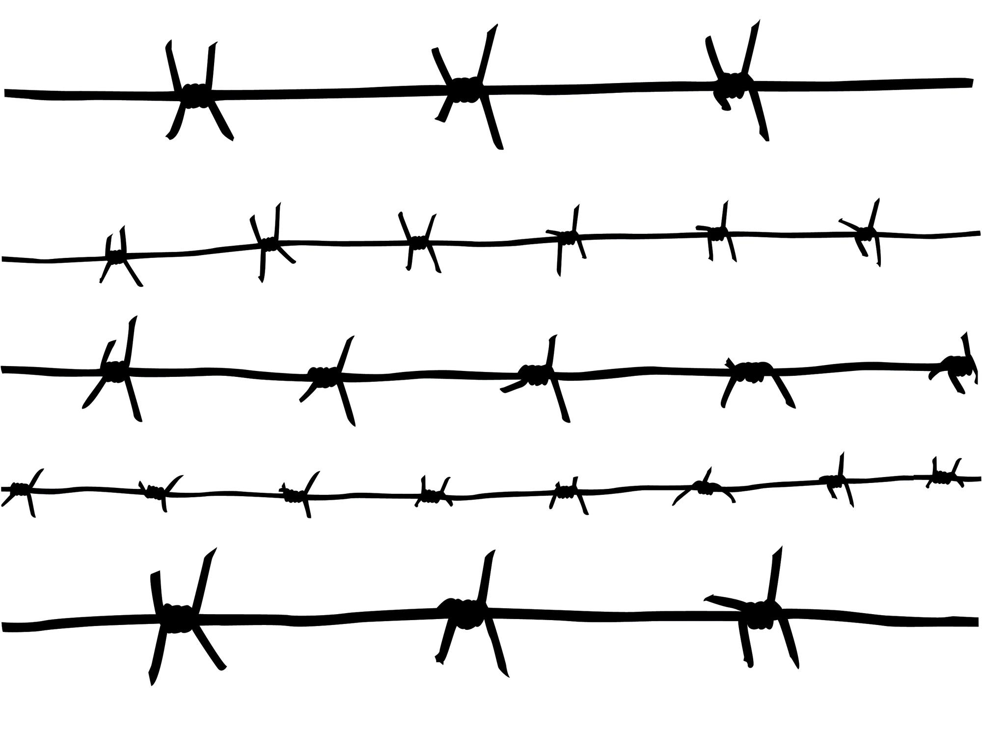 Download Barbed Wire Fence Png () png images.