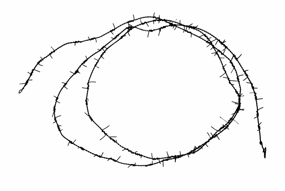 freetoedit #barbed #wire #circle #border #element.