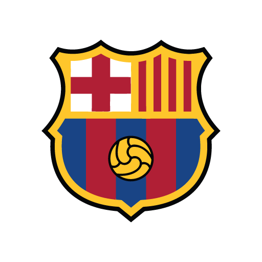 FC Barcelona new logo in (.EPS + .AI) free download.