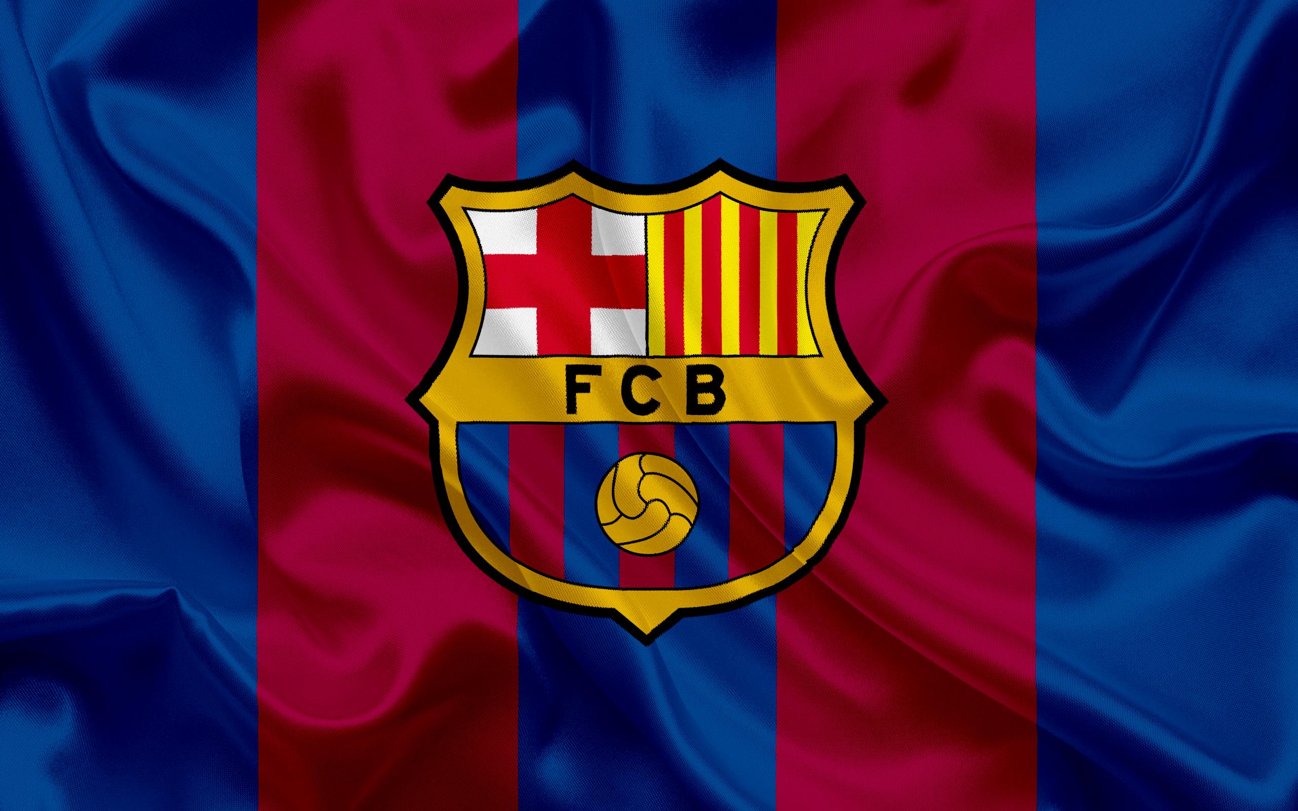 Barça Logo HD Wallpaper.
