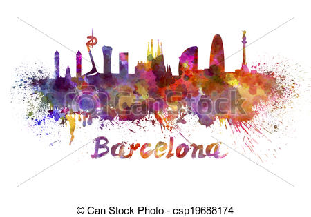 Barcelona Illustrations and Clip Art. 1,645 Barcelona royalty free.