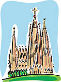 Barcelona Clipart Royalty Free. 917 barcelona clip art vector EPS.