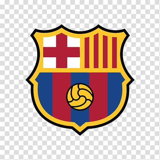 Flag of Barcelona transparent background PNG cliparts free.