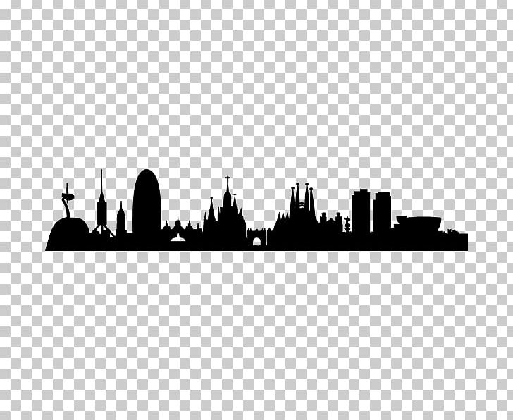 Barcelona Skyline Silhouette PNG, Clipart, Animals.