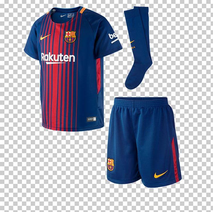 FC Barcelona La Liga Kit Jersey PNG, Clipart, 2017, Active.