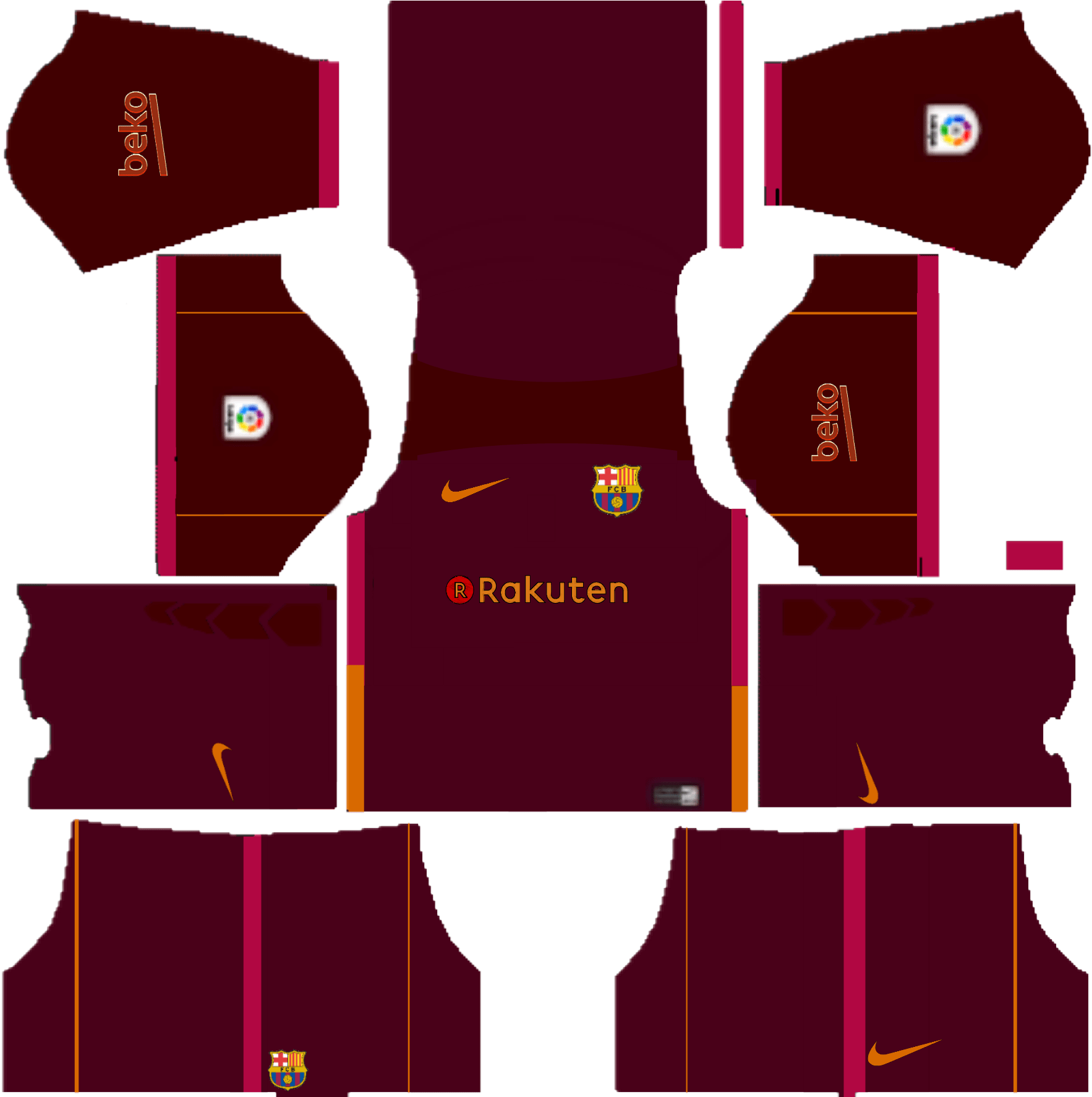 Download Dls 18 Kit Barcelona Kuchalana Barcelona Logo Fts.
