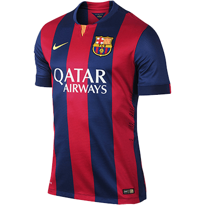 FC Barcelona Home Kit transparent PNG.