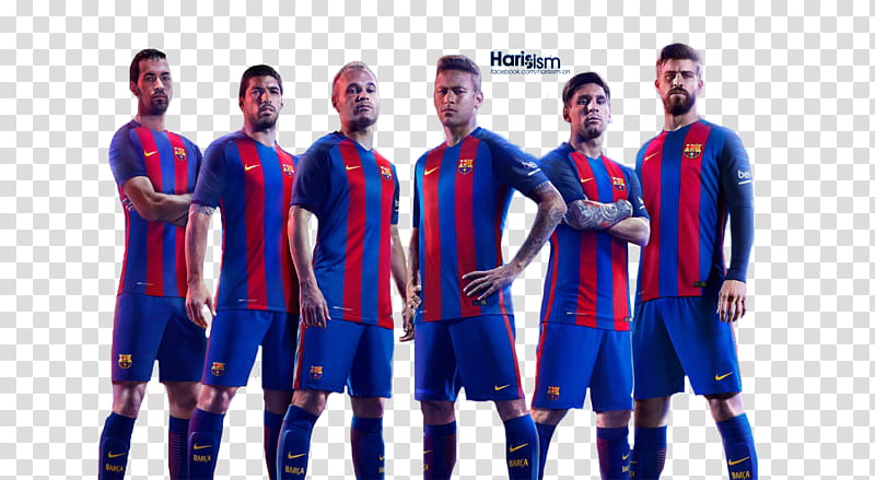 FC Barcelona Render transparent background PNG clipart.