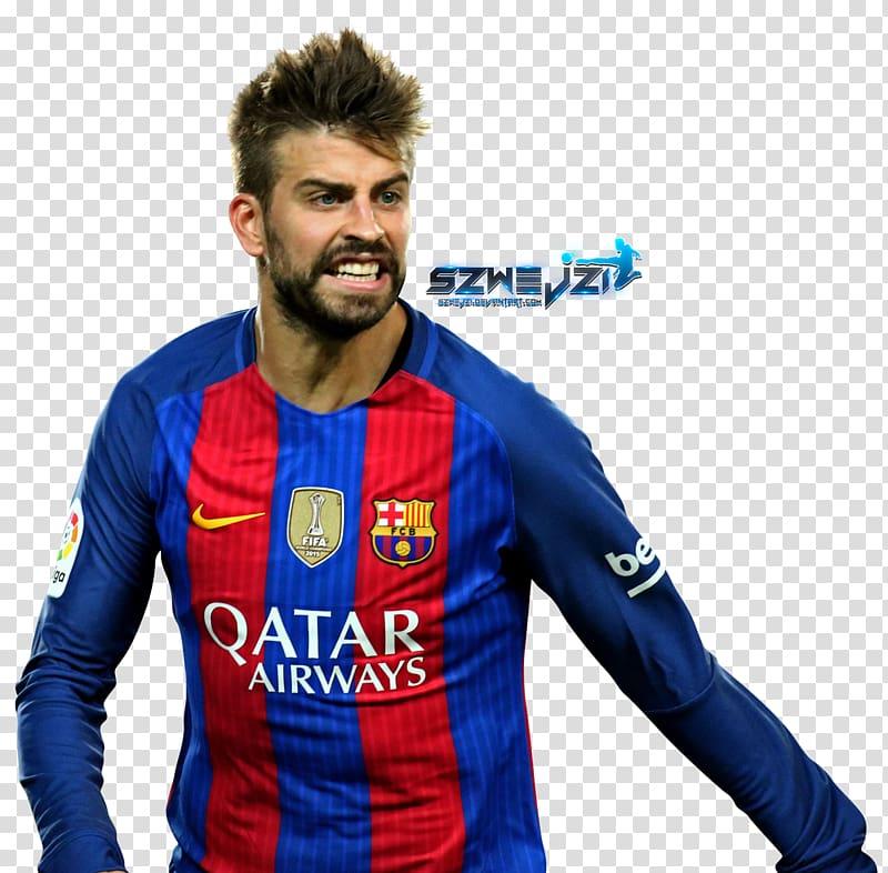 Gerard Piqué FC Barcelona Jersey , fc barcelona transparent.