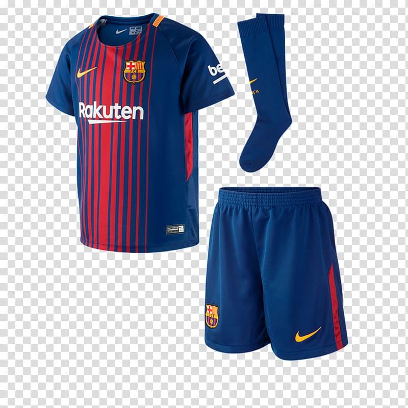FC Barcelona La Liga Kit Jersey, fc barcelona transparent.