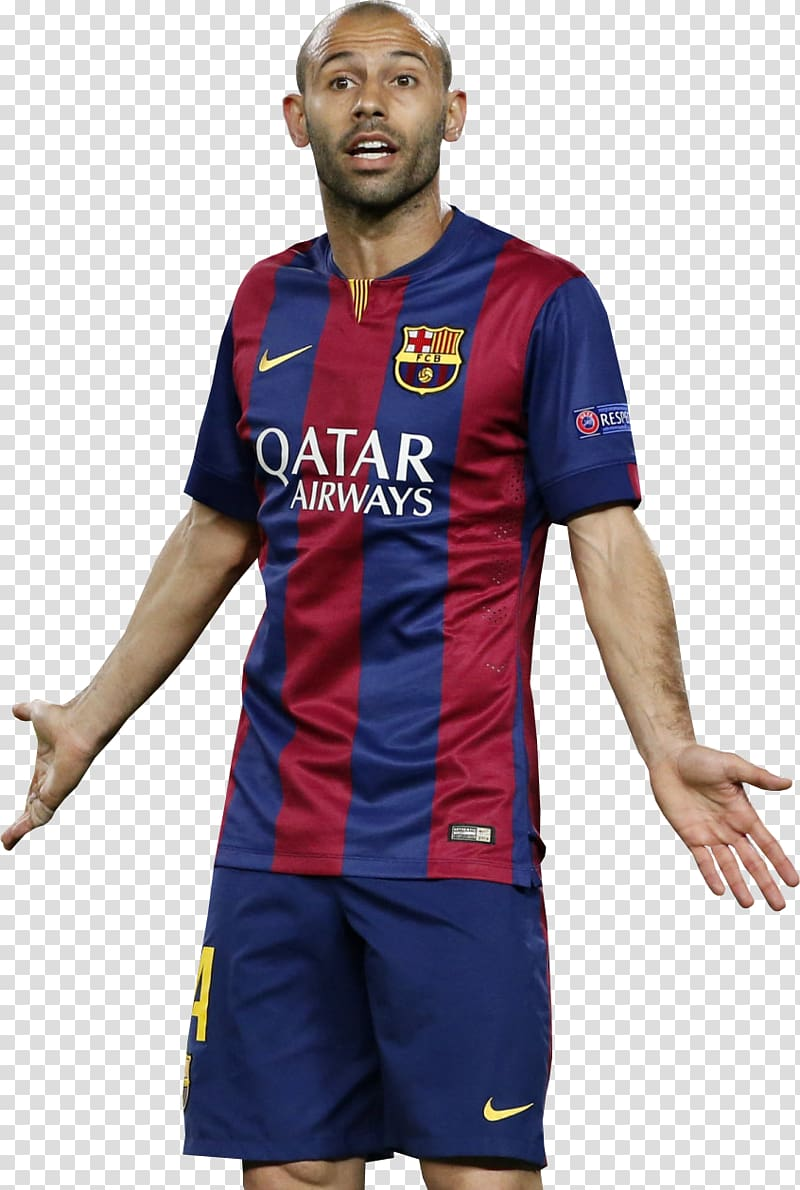 Javier Mascherano Jersey FC Barcelona Football player, fc.