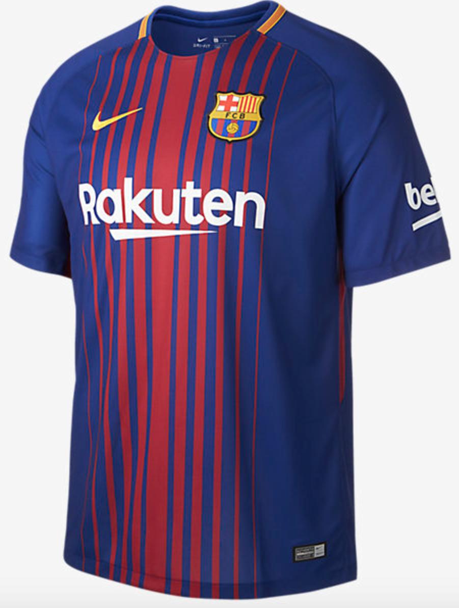 Barcelona's new kits for 2017.