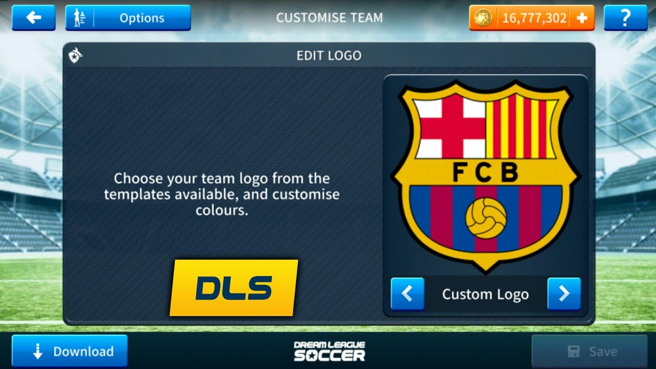 How To Import Fc Barcelona Latest Logo And Kits In Dream League Soccer 2019.