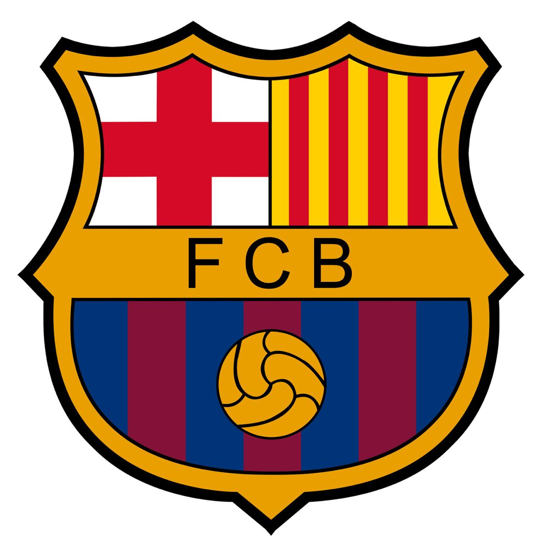 Logo Barcelona Dream League Soccer 2019.