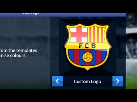How To Import FC Barcelona Logo In Dream League Soccer 17.