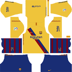 FC Barcelona kit and logo URL for Dream League Soccer 2020.