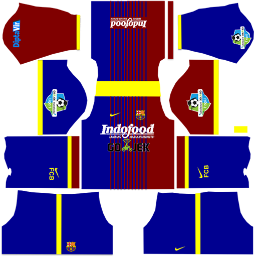 Barcelona Logo Dream League 2019 clipart.