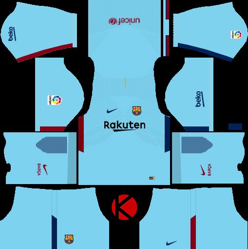Barcelona Nike Kits 2017/2018.