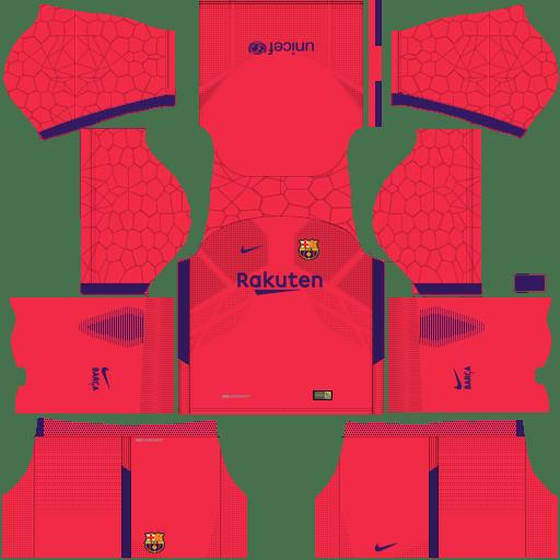 BARCELONA KITS & LOGO URL DREAM LEAGUE SOCCER 2018.