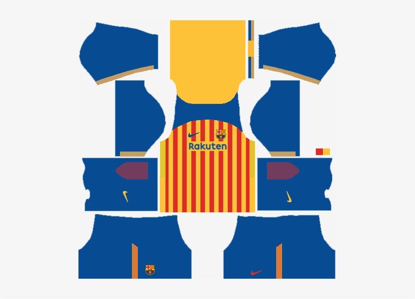 Fc Barcelona Senyera Kit.