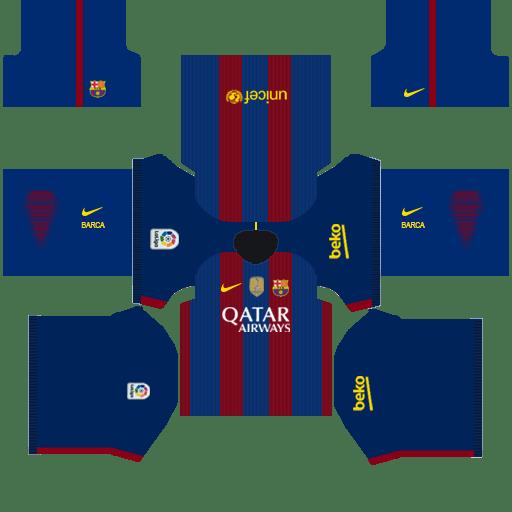 Barcelona Kits 2015 Dream League Soccer.