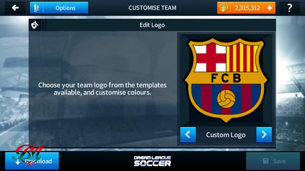 How To Import Fc Barcelona Logo And Kits In Dream League Soccer 2018.
