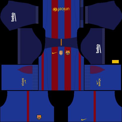 Dream league soccer Fc barcelona 2016/17 kit.