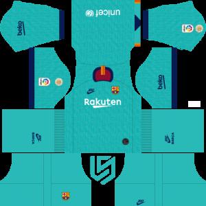 F.C. Barcelona Nike Kits 2019.
