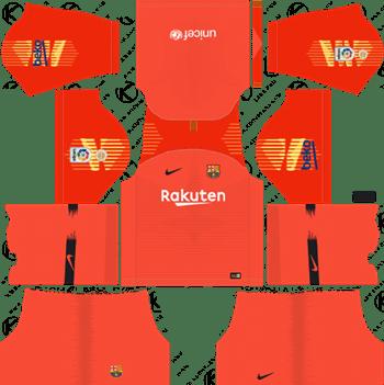 Dream League Soccer Kits Barcelona 2018.