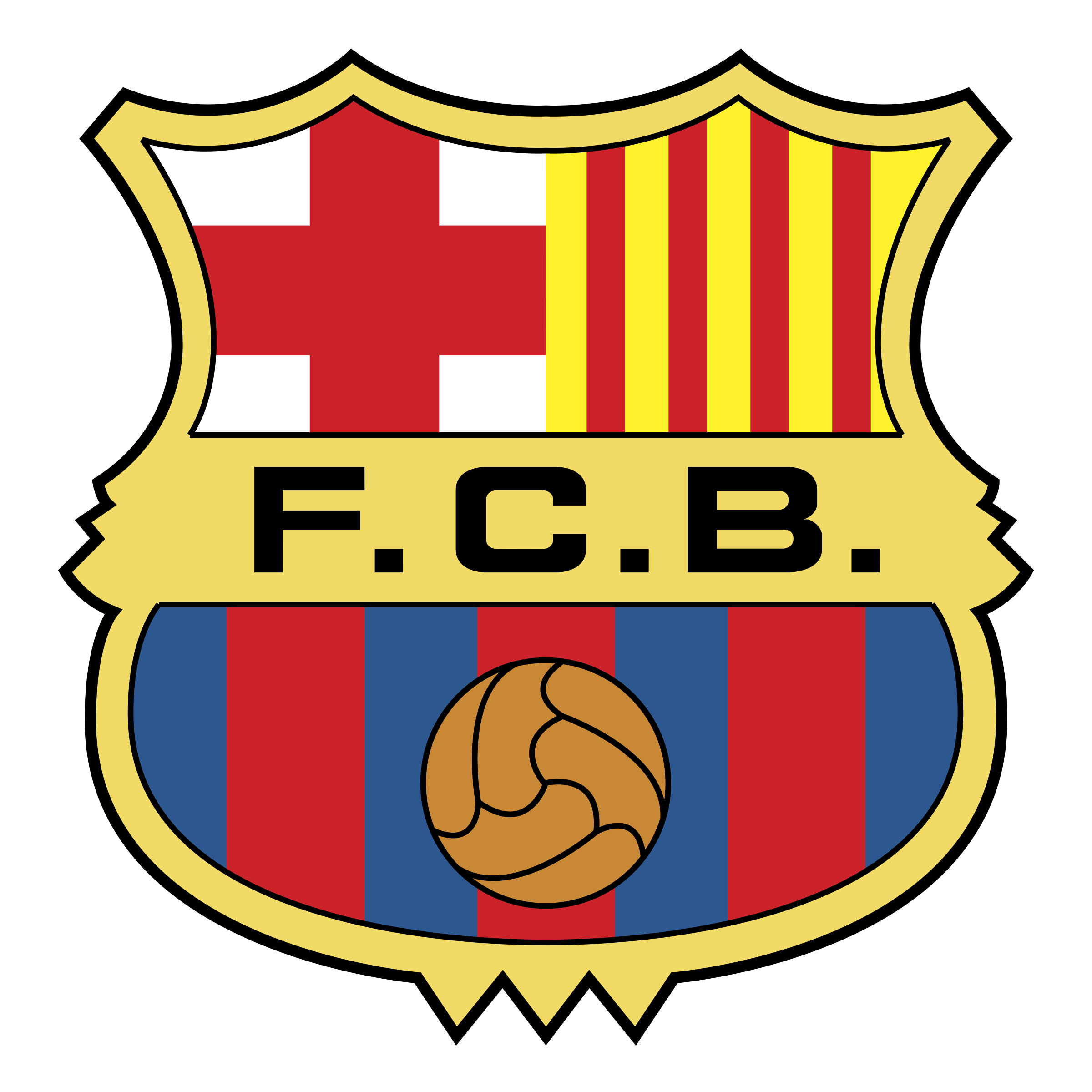 Barcelona Logo PNG Transparent & SVG Vector.