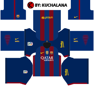 Barcelona Kits 2016/2017.