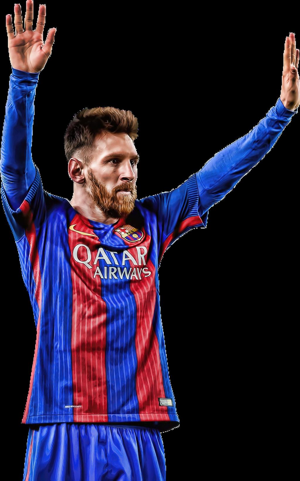 Lionel Messi Png Barcelona 2017.