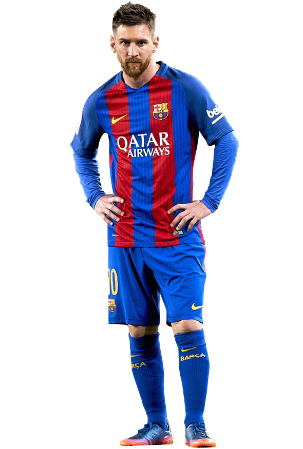 messi barcelona png image free download.