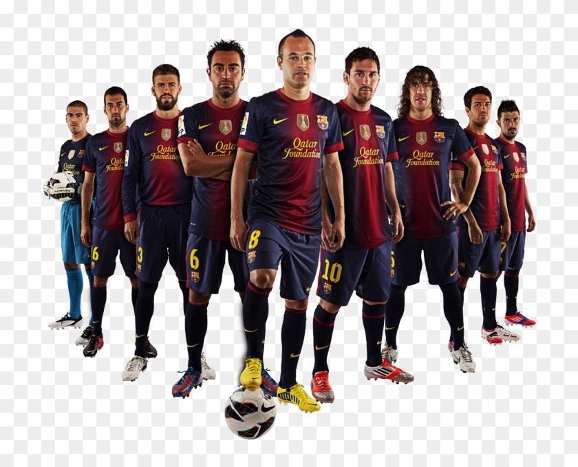Fc Barcelona Team Png, Transparent Png (#799443), Free Download on Pngix.
