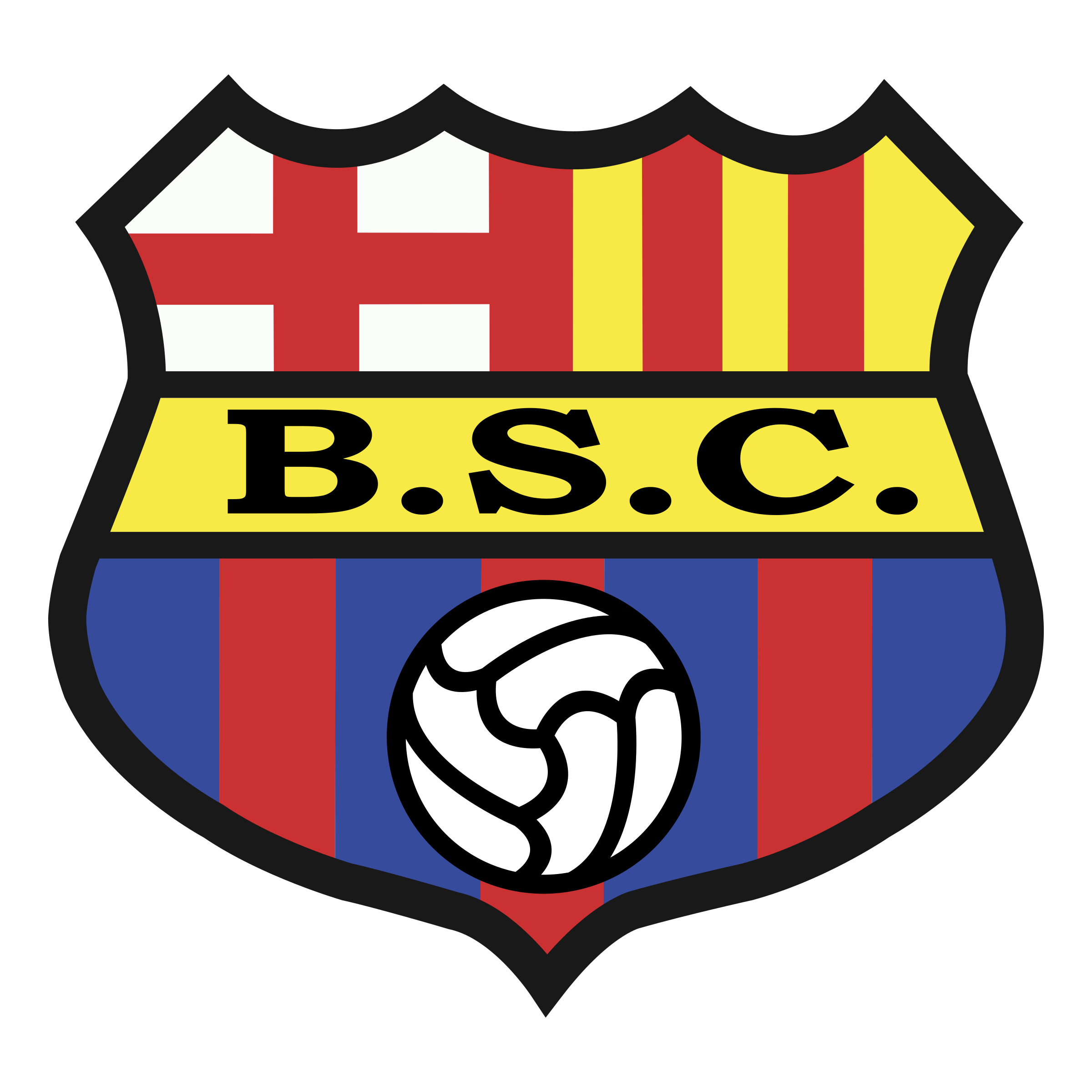 Barcelona Sporting Club Logo PNG Transparent & SVG Vector.